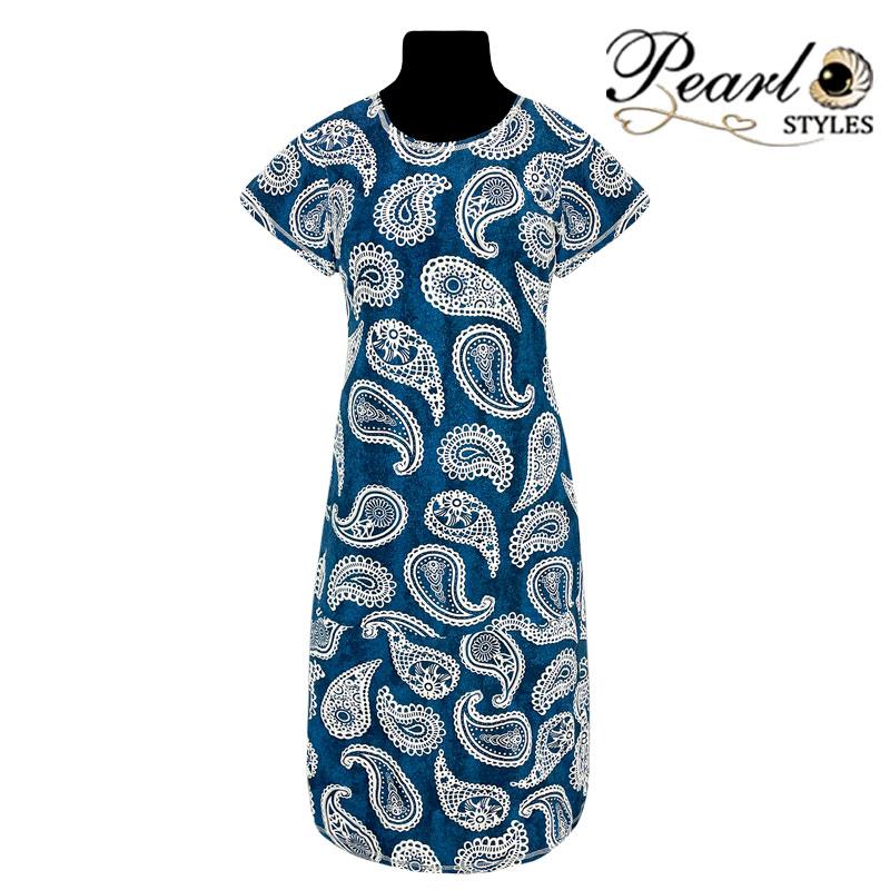 Платье реактив с индийским огурцом